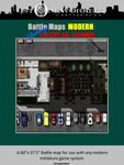 RPG Item: Battle Maps MODERN: Rodney's Cocktail Lounge