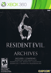 Video Game Compilation: Resident Evil 6: Archives
