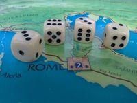 The dice in Julius Caesar.