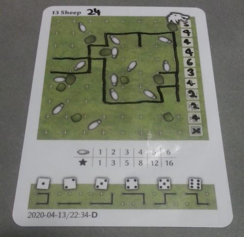 Board Game: 13 Sheep