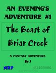 RPG Item: An Evening's Adventure #1: The Beast of Briar Creek