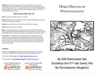RPG Item: Dreki Draugr of Strandagaldur
