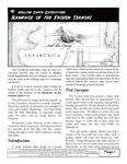 RPG Item: Rampage of the Frozen Terror!