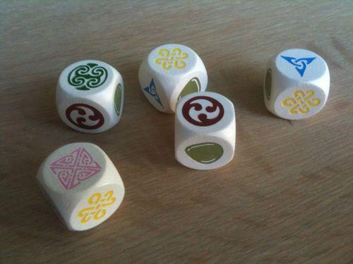 Board Game: Keltis: Das Würfelspiel