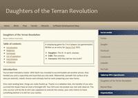 RPG Item: Daughters of the Terran Revolution