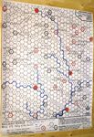 Board Game: Railway Rivals Map VS: Valley of the Severn