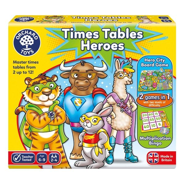 Times Table Heroes