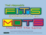 Board Game: FITS Expansion #1: MOTS – More Of The Same