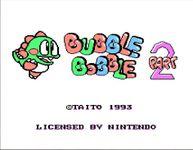 Video Game: Bubble Bobble Part 2