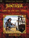 RPG Item: Fantasia Adventure F11: Lord of the Lost Lands