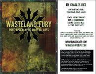 RPG Item: Wasteland Fury: Post Apocalyptic Martial Arts