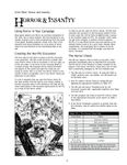 RPG Item: Grim Tales Web Enhancement: Horror and Insanity