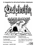 Issue: Oubliette (Issue 1 - Apr 2010)