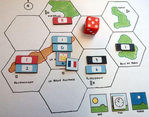 Board Game: One-Minute Waterloo