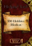 RPG Item: 100 Hobbies - Modern