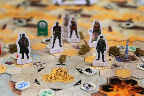 Board Game: Saltlands
