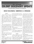 RPG Item: Colony Discovery Update: Oberon & Eridani