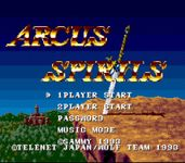 Video Game: Arcus Odyssey