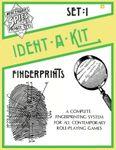 RPG Item: Ident-A-Kit Set 1: Fingerprints