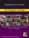 RPG Item: Dragonlances in Faerûn: DL3 Dragons of Hope