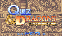 Video Game: Quiz & Dragons: Capcom Quiz Game