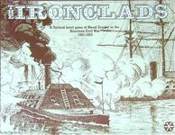 Board Game: The Ironclads: A Tactical Level Game of Naval Combat in the American Civil War 1861-1865