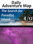 RPG Item: Daily Adventure Map 033: The Search for Paradise Island 4/12