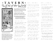 RPG Item: Tavern at the End of the World
