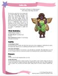 RPG Item: Costume Fairy Adventures Quickstart Edition Playbook: Calla Lily