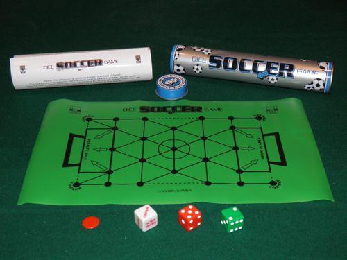 Board Game: Dice Soccer Game