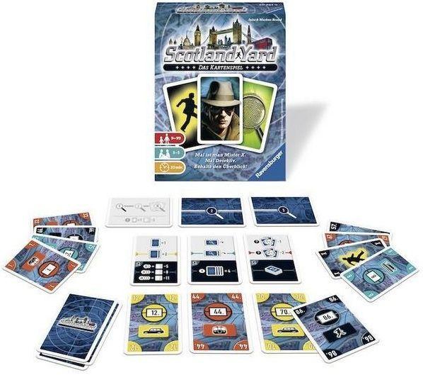 スコットランドヤード:カードゲーム:コンポーネント