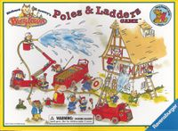 Board Game: Richard Scarry's Busytown Poles & Ladders Game