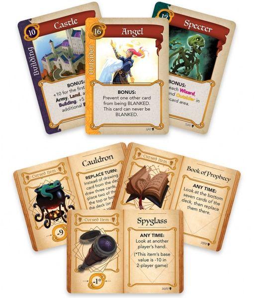 few cards