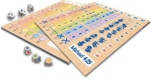 Board Game: Lost Cities: Roll & Write