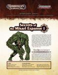 RPG Item: The Aden Gazette Issue No. 15: Secrets of the Misari Expanse 1 (Pathfinder)