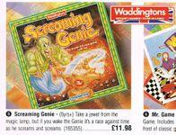 Board Game: Screamin' Genie: The Frantic Sound & Race Game
