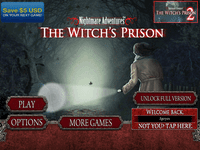 Video Game: Nightmare Adventures: The Witch's Prison