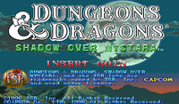 Video Game: Dungeons & Dragons: Shadow over Mystara