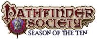 Series: Pathfinder Society Scenario Season 10