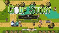 Video Game: Golf Story