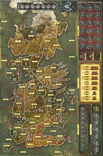 A Game Of Thrones The Board Game Second Edition Image Boardgamegeek