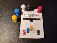 Board Game Accessory: Minerały: Zestaw alternatywnych pionków