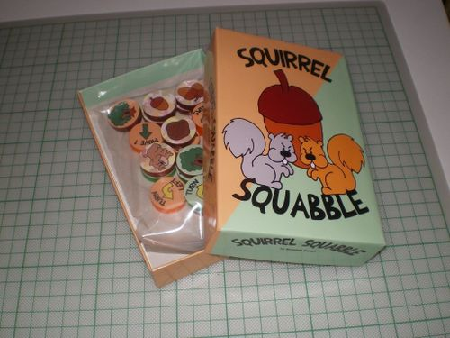 Board Game: Squirrel Squabble