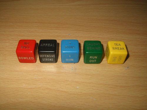Board Game: Cricket Dice