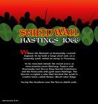 Board Game: Shield Wall: Hastings 1066