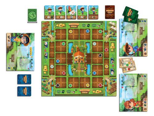 Board Game: Cabbage Farm