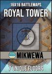 RPG Item: Battlemaps by MikWewa: Royal Tower