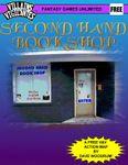 RPG Item: Second Hand Book Shop