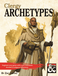 RPG Item: Clergy Archetypes
