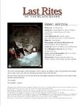 RPG Item: Last Rites of the Black Guard Demo Edition (d20 Version)